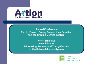 Women in Prison - Action for Prisoners` Families