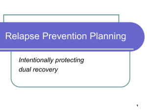 link to Relapse Prevention Planning
