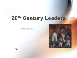 20th Century Leaders