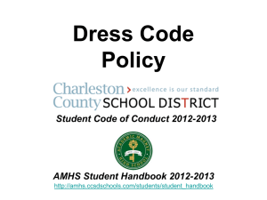 Dress Code Policy