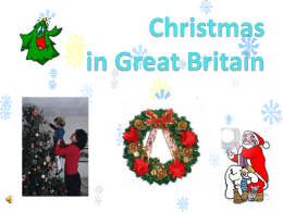 Christmas in Great Britain
