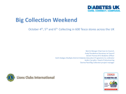 2013TescoDiabetesLionsCollection