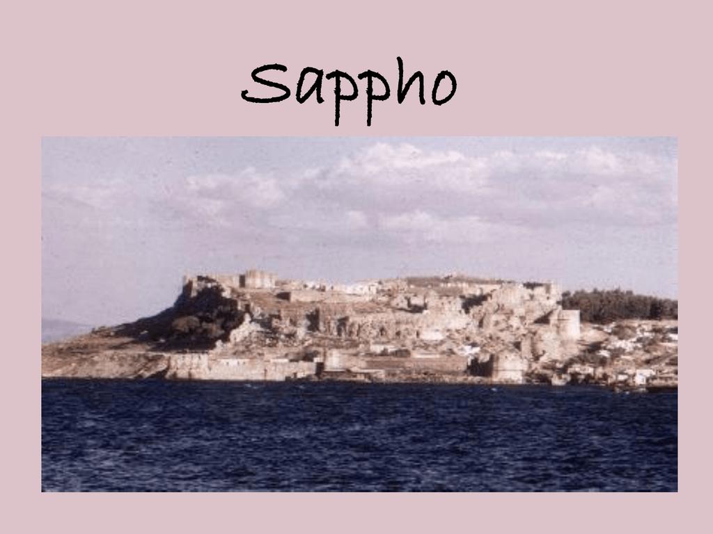 Sappho dating på nettet