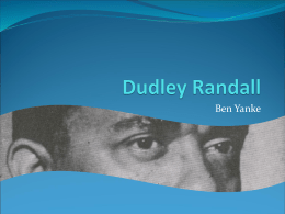 Dudley Randall-old