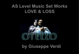 Otello Notes Act 4
