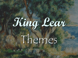 king lear good and evil right and wrong The role of cordelia in king lear essay  she is a symbol of good amidst the evil characters within the play  there is nothing wrong with her remarks.