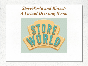 A Virtual Dressing Room StoreWorld