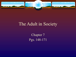 Sociology Chapter 7_ sect
