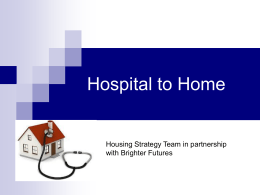 Hospital to Home - Tamworth Borough Council