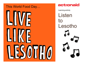 Listen to Lesotho