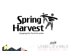 Distinctive - Spring Harvest