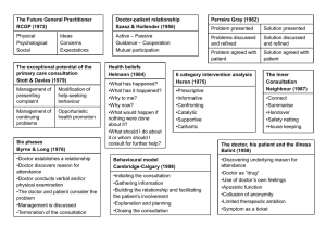 Consultation Grid - The Essential Handbook for GP Training