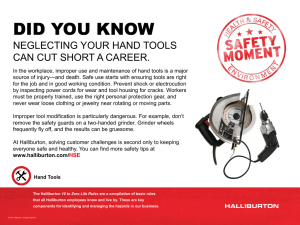 Life Rule 9 - Hand Tools