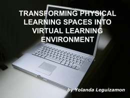 virtual learning environments