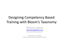 Bloom - Learning in the News