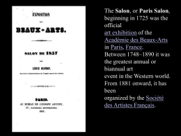 Paris Salon