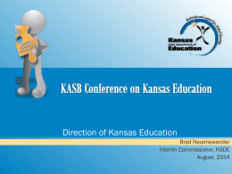 academic - Kansas State Department of Education