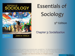 Essentials of Sociology, 7th Edition