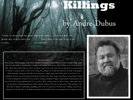 Killings by Andre Dubus