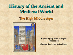 History of the Ancient and Medieval World The Crusades