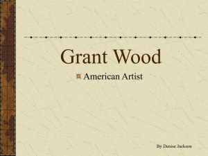 Grant Wood - Mrs. Jackson`s Art Room