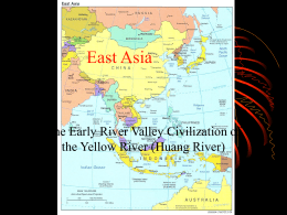 Early Civilizations along the Yellow River Valley PPT