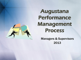 Stanley Consultants Performance Management Process
