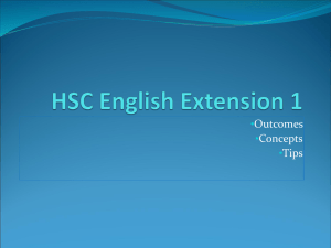 HSC-English-Extension-1