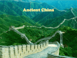 China ppt - AP World History