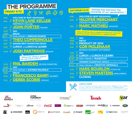 Download the full programme as a pdf