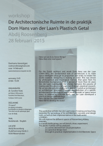 workshop Abdij Roosenberg 28 februari 2015