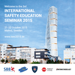 international safety education seminar 2015