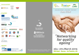 """Networking for quality ageing"""