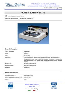 Technical Datasheet - Bio