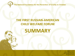 1 - American Professional Society on the Abuse of Children