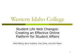 Western Idaho College
