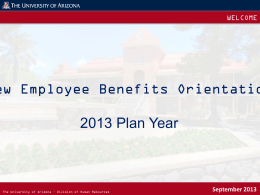 to view the Online New Employee Benefits Orientation (PPT)