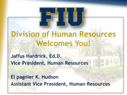 Human Resources PowerPoint Presentation