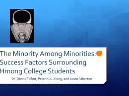 who are hmong?: the minority among the minorities