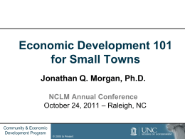 2011 Economic Development 101