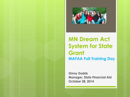 MN Dream Act