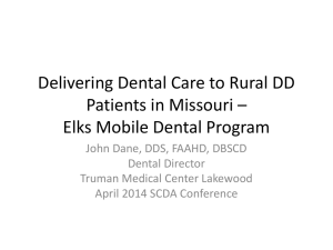 Changes You Need to Know - American Student Dental Association