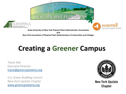 Creating a Greener Campus