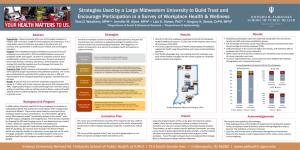 Strategies Used by a Large Midwestern University to Build Trust and