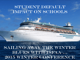 Student Default Impact on Schools