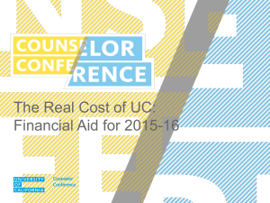 CC14-Real_Cost_of_UC - University of California