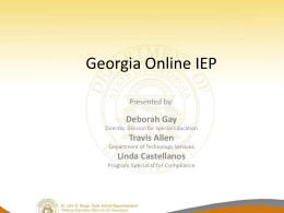 OnlineIEP_ConferencePresentation_2011