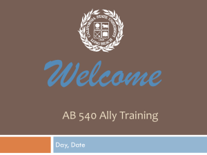 AB 540 - California State University, Long Beach