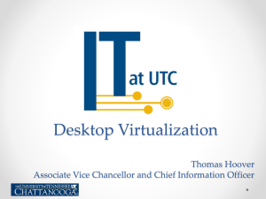 Why desktop virtualization?