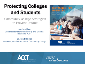 """Student Loan Default & College Liability"" by Mr. Jee Hang Lee"